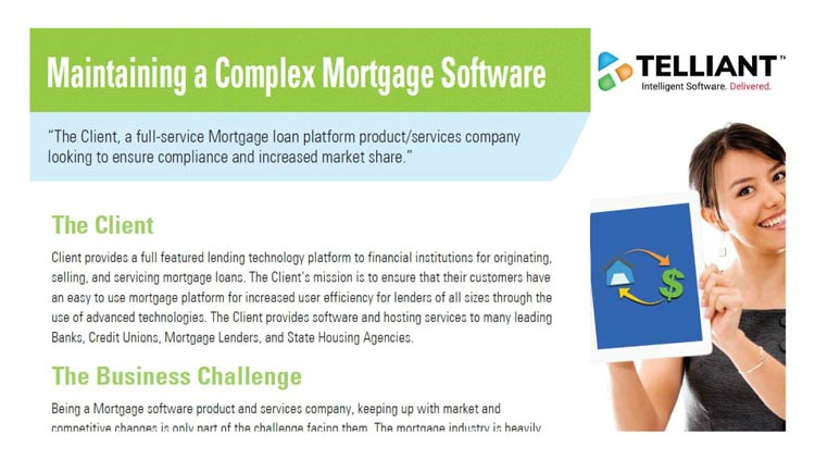 Maintaining a Complex Mortgage Software